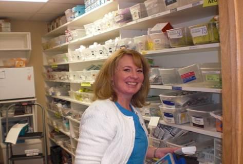 Sandy RN in pharmacy